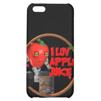 I Luv Apple Juice on 100+items by valxart.com iPhone 5C Covers