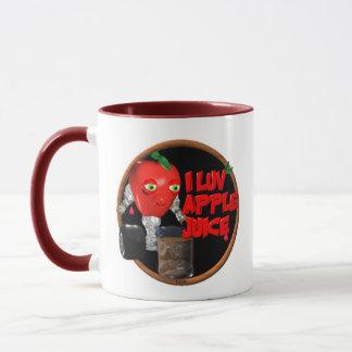 I Luv Apple Juice on 100+items by valxart.com Mug