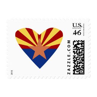 I Luv AZ postage stamp