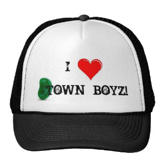 I LUV BEANTOWN BOYZ TRUCKER HAT