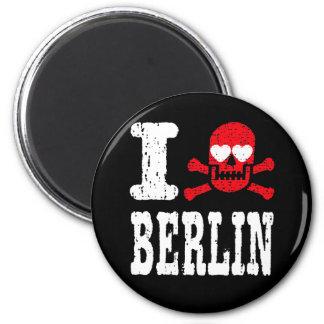 I LUV BERLIN REFRIGERATOR MAGNETS