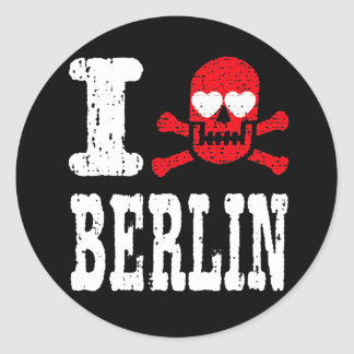 I LUV BERLIN STICKER
