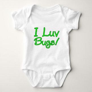 I Luv Bugs! Baby Bodysuit