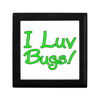 I Luv Bugs Keepsake Box