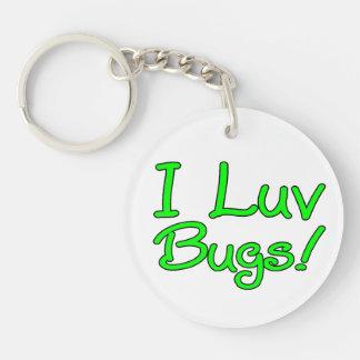 I Luv Bugs Keychain
