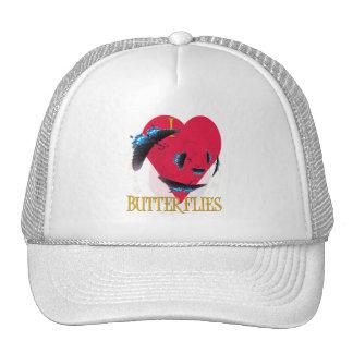 I LUV BUTTERFLIES TRUCKER HAT