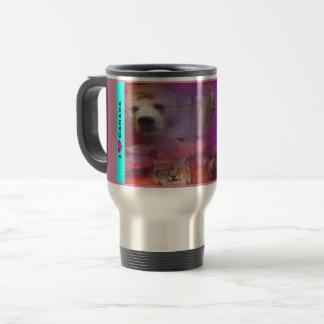 I Luv Canada Travel Mug