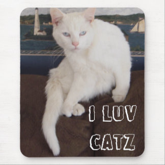 I Luv Catz Mouse Pad