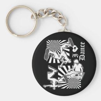 I LUV Dance-W Keychain