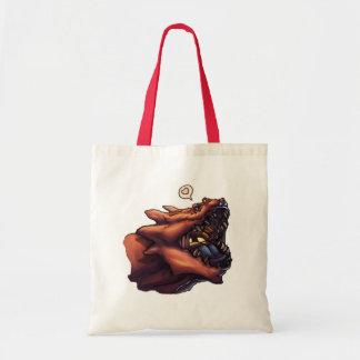 I Luv Dragons Tote Bag