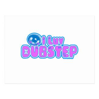 I luv DUBSTEP Postcard