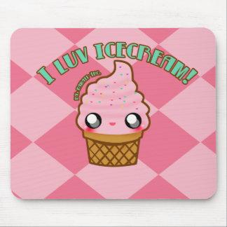 I luv Icecream! Mouse Pad