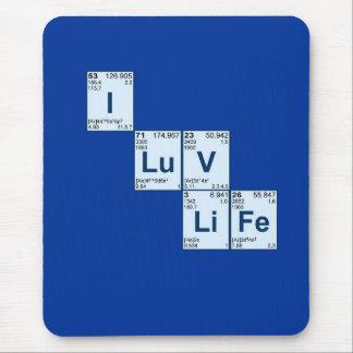 I LuV LiFe Mouse Pad