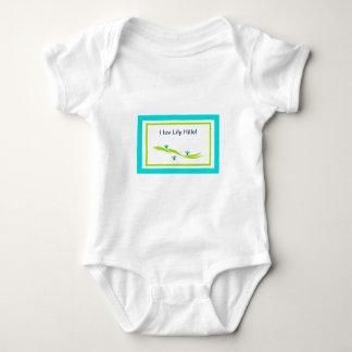 I Luv Lily Hills logo Baby Bodysuit