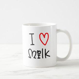 I Luv Milk Coffee Mug
