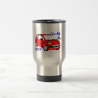 I Luv My Pug 1007 3 Travel Mug