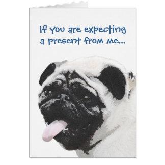 I Luv My Pug Card
