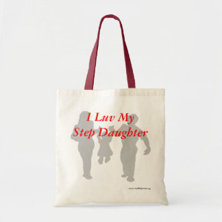 I Luv My Step Daughter! Canvas Bag