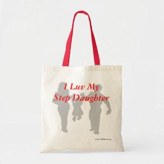I Luv My Step Daughter! Budget Tote Bag
