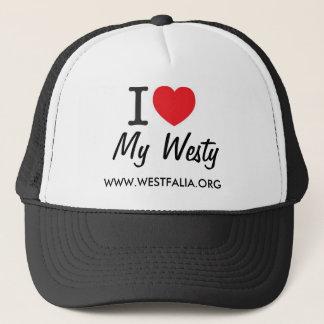 I Luv My Westy Cap