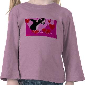 I Luv Orcas Tshirt