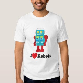 i luv robots blk type t shirt