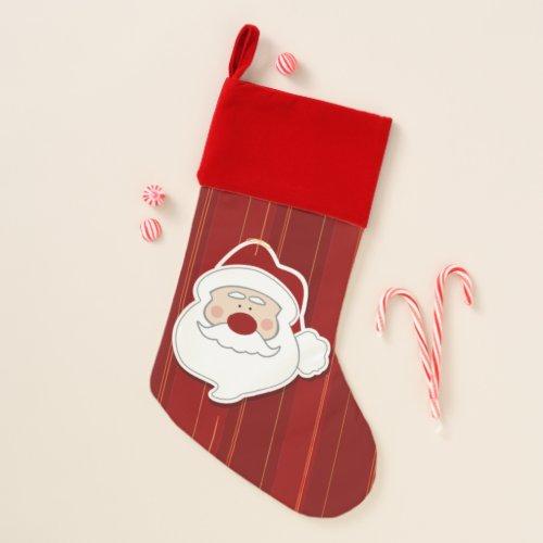 I Luv Santa Christmas Stocking
