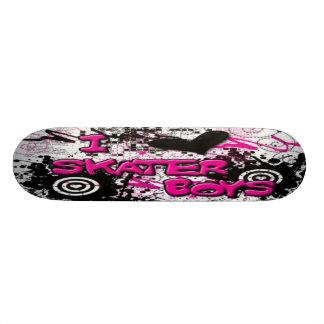I Luv Skater Boys Skateboard