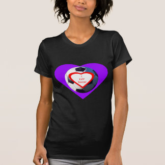 I LUV Soccer Ball jGibney The MUSEUM Zazzle Gifts Tees