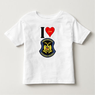 I LUV the MSHP Toddler T-shirt