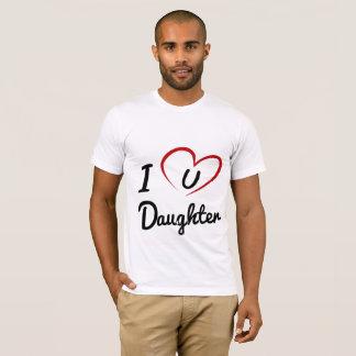 I Luv u Daughter M T-Shirt