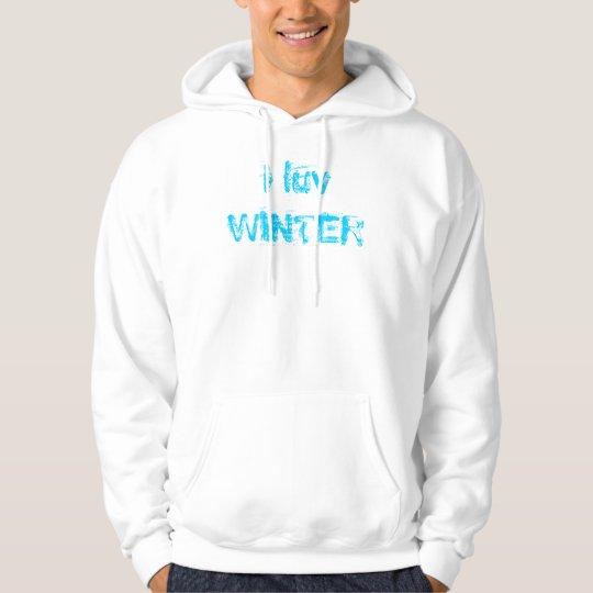 i luv WINTER Hoodie