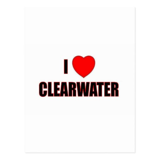 I Lvoe Clearwater Postcards