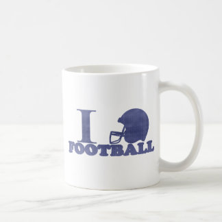 I Lvoe Football Coffee Mug