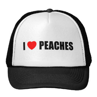I Lvoe Peaches Trucker Hat