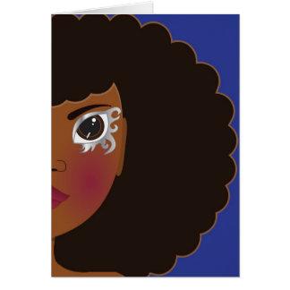 I Lythia Blue Greeting Card