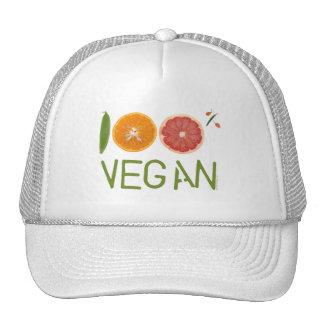 "I""m 100% Vegan Trucker Hat"