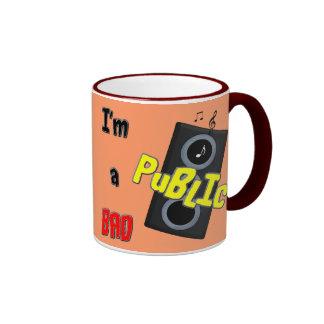 I'm a bad public speaker mugs