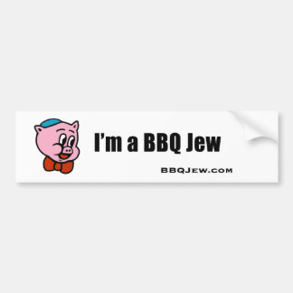 I m a BBQ Jew Bumper Sticker