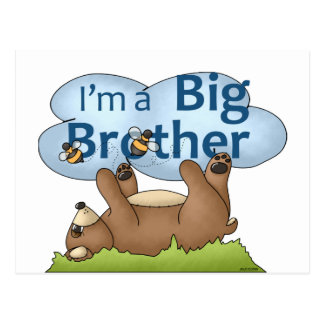 I m a Big Brother bear Post Cards