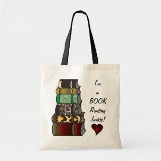 I m a Book Reading Junkie Bag