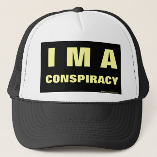 I M A CONSPIRACY 9/11 Trucker Cap