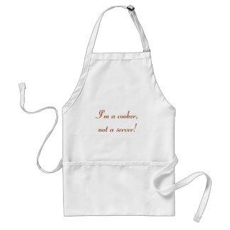 I m a cooker not a server apron