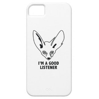 I'm A Good Listener iPhone SE/5/5s Case