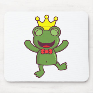 I m a Green Frog Mouse Pads