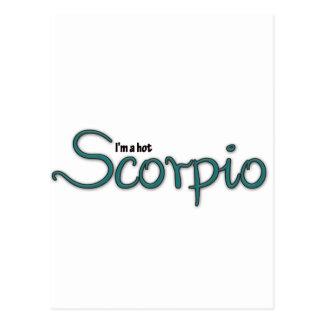 I m A Hot Scorpio Postcard