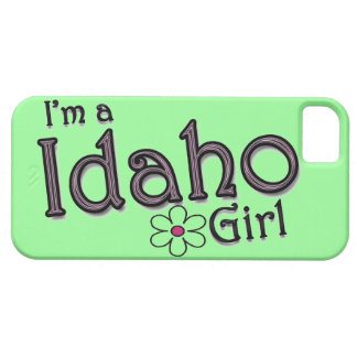 I m a Idaho Girl Flower Green iPhone Cover iPhone 5 Case