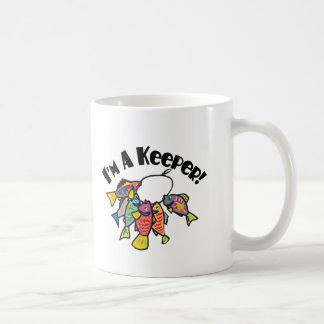I m A Keeper Coffee Mugs
