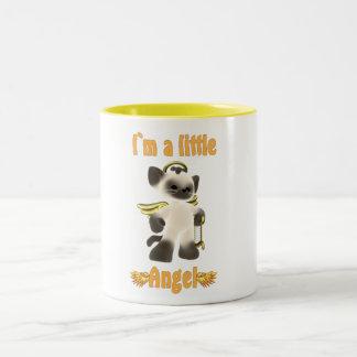 I`m a little angel Two-Tone mug