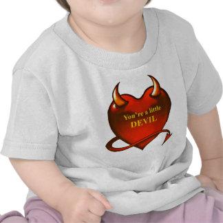 I m a little devil tshirts